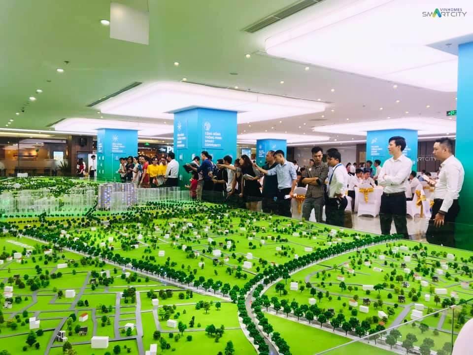 Khu sa bàn Vinhomes Smart City