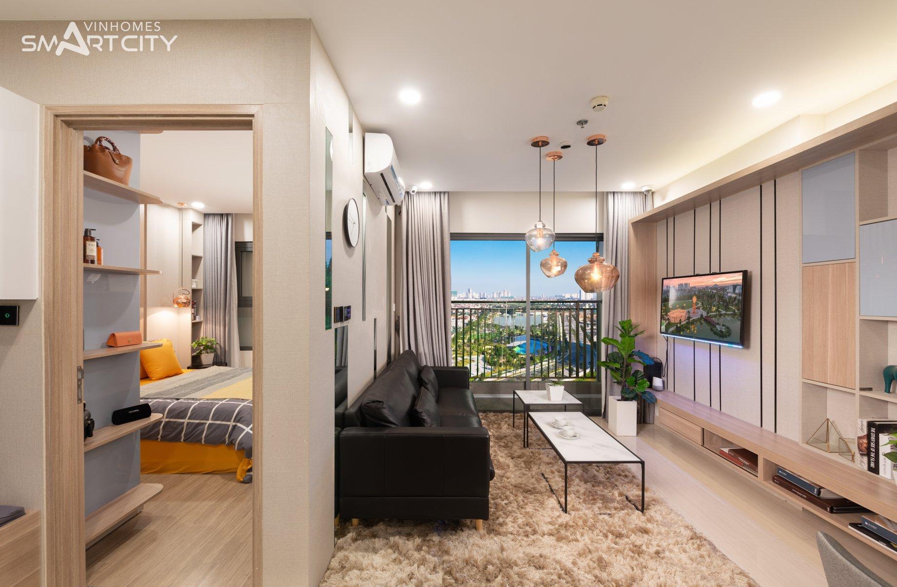 Căn hộ 1 phòng ngủ Vinhomes Smart City đẹp giá tốt - Ngô Quốc Dũng