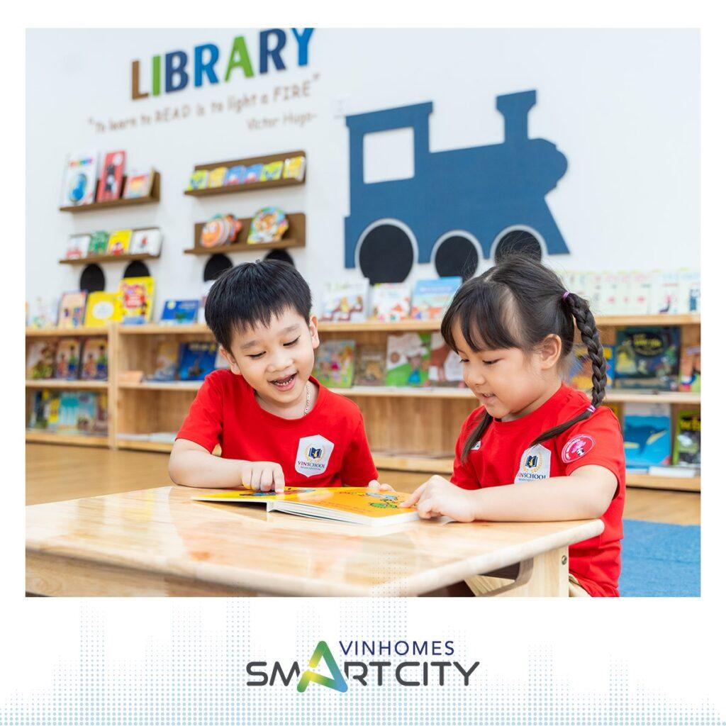 thư viện vinschool smart city